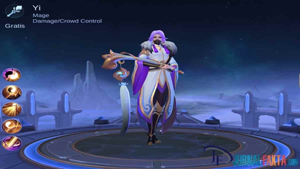 Hero Baru Luo Yi Hero Mage Paling OP Di Mobile Legends