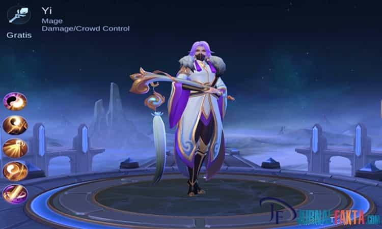 Tanggal Rilis Hero Yi ke Server Global Mobile Legends