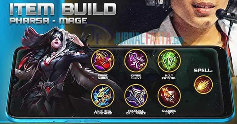 Build hero Pharsa terbaik dan tersakit di Mobile Legends