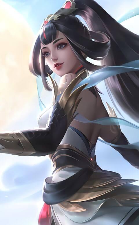 wallpaper hero mobile legends guinevere