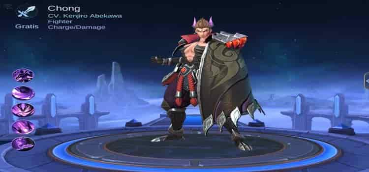 Hero baru Chong Mobile Legends