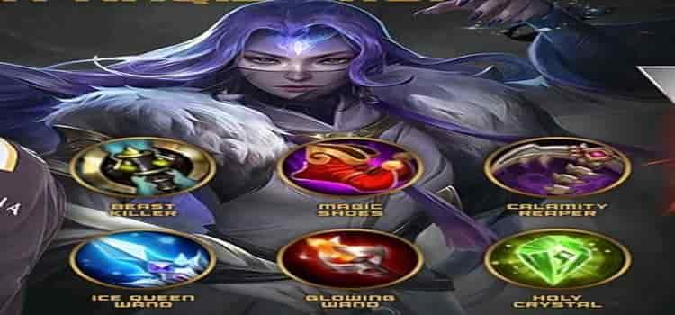 item atau gear build hero luo yi mobile legends