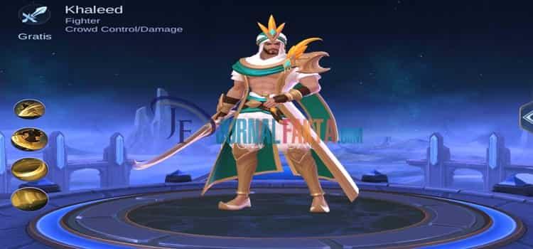 hero baru Khaleed Mobile Legends